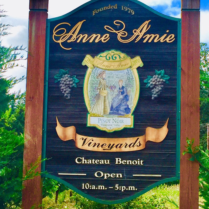 Anne Amie Vineyards Carlton Oregon
