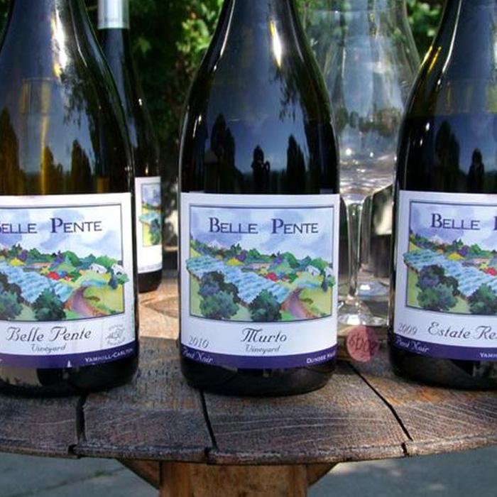 Belle Pente Wine Carlton Oregon