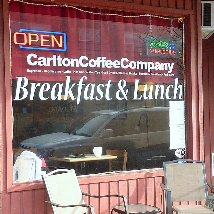 Carlton Coffee Company Oregon