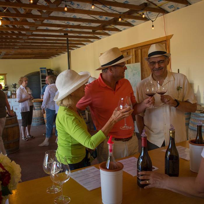 Monksgate Vineyard Carlton, Oregon Wine Tasting