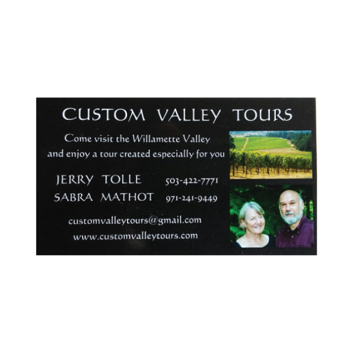 Custom Valley Tours - Carlton, Oregon