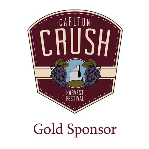 Carlton Crush Harvest Festival - Gold Sponsor