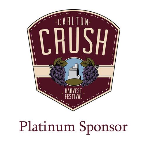 Carlton Crush Harvest Festival - Platinum Sponsor