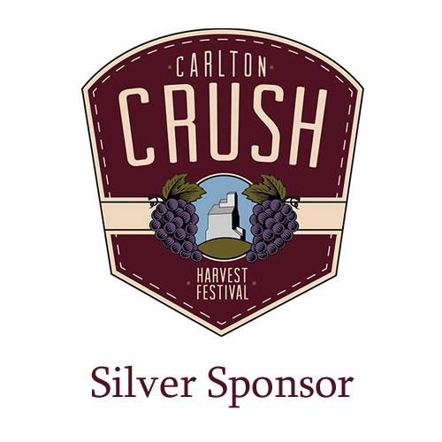 Carlton Crush Harvest Festival - Silver Sponsor